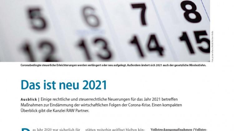 Tüv 2021 Neuerungen