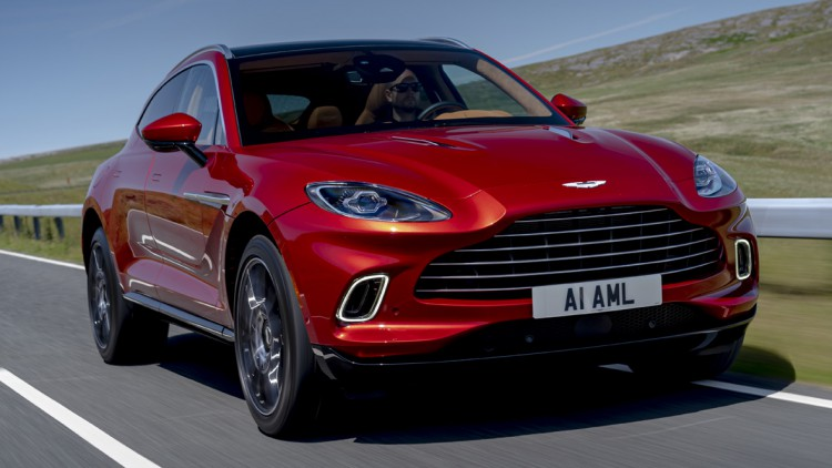 Fahrbericht Aston Martin Dbx Sportwagen Trifft Suv Autohaus De