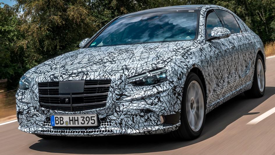 Mercedes S-Klasse (2021) - Abnahmefahrt | autoservicepraxis.de