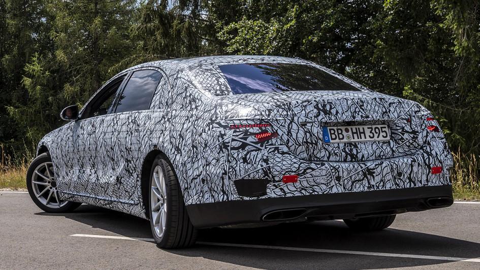 Mercedes S-Klasse (2021) - Abnahmefahrt   autoservicepraxis.de